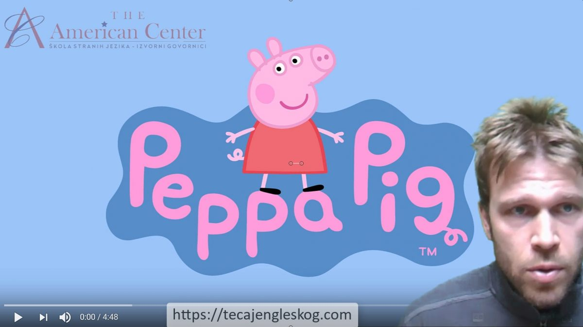 Learning English with Peppa Pig